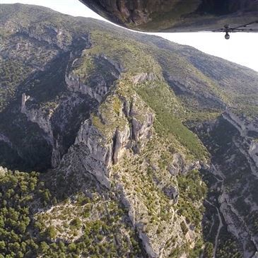 Baptême de l'air hélicoptère, département Vaucluse