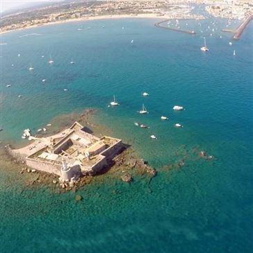 Baptême en Hélicoptère à Sète