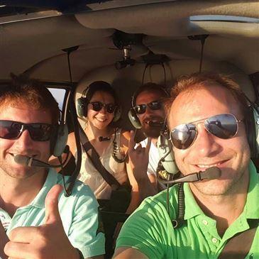 Baptême de l'air hélicoptère en région Languedoc-Roussillon