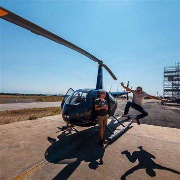 Baptême de l'air hélicoptère proche Sète