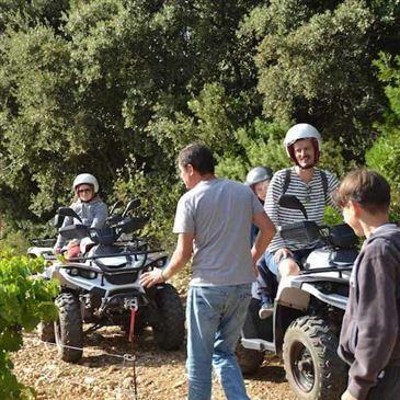 Week end Randonnée quad en région Languedoc-Roussillon
