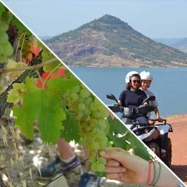 Week-end Quad et Dégustation de Vin près de Montpellier