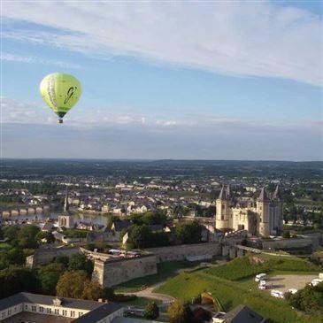 Offrir Baptême de l'air montgolfière département Maine et loire