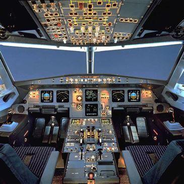 Simulateur de Vol A320 sur Vérins près de Lille