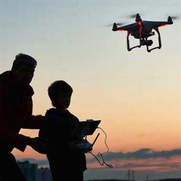 Pilotage de Drone en région Auvergne