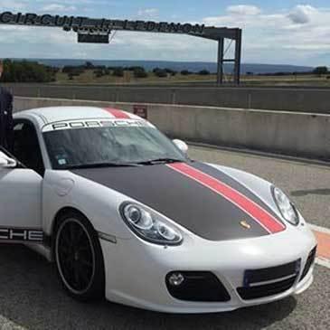Baptême en Porsche Cayman S - Circuit de Lédenon Club