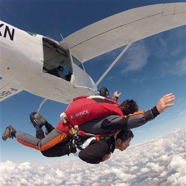 Saut en parachute, département Essonne