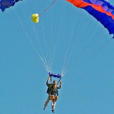 Saut en parachute proche Aérodrome de Montargis-Vimory, à 1h d'Etampes