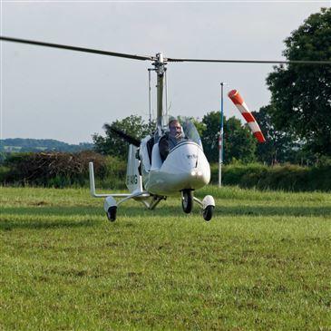 Vol en ULM Autogire près de Rennes en région Bretagne