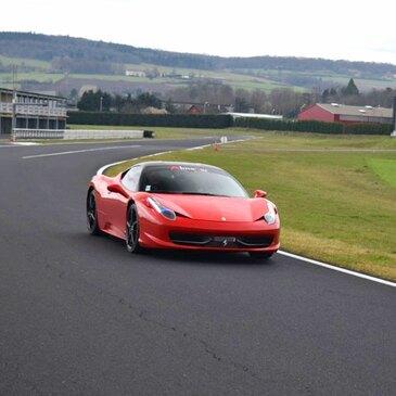 Stage de pilotage Ferrari, département Creuse