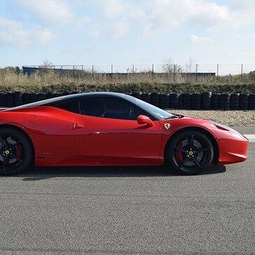 Stage de pilotage Ferrari en région Limousin