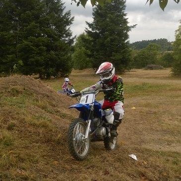 Initiation Moto-Cross pour Enfant près de Clermont-Ferrand
