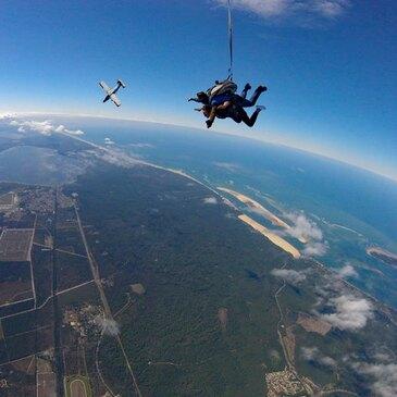 Saut en parachute proche Aérodrome d'Arcachon-La Teste-de-Buch