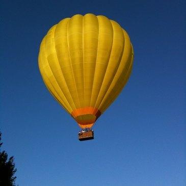 Baptême de l'air montgolfière, département Indre et loire