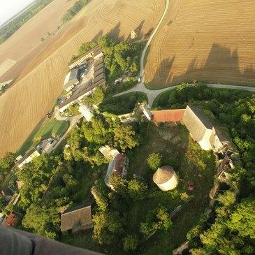 Vol en Montgolfière à Gisors - Survol du Vexin en région Haute-Normandie