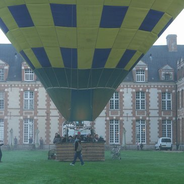 Baptême de l'air montgolfière, département Seine maritime