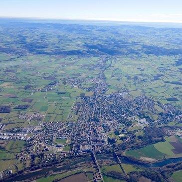 Saint-Marcellin-en-Forez, Loire (42) - Baptême de l'air montgolfière
