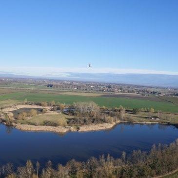 Vol en Montgolfière près de Saint-Etienne - Plaine du Forez en région Rhône-Alpes