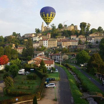 Viverols dans le parc Livradois-Forez, Puy de dôme (63) - Baptême de l'air montgolfière