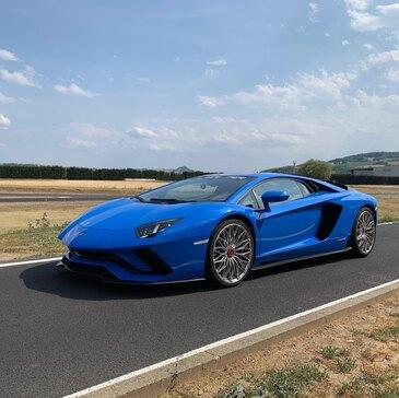 Stage en Lamborghini Aventador S - Circuit de Mornay en région Limousin