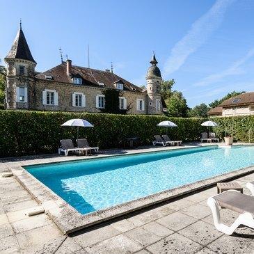 Week End au Château de Buros près de Mont-de-Marsan