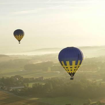 Vol en Montgolfière - Survol du Vexin