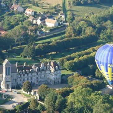 Baptême de l'air montgolfière, département Val d'oise