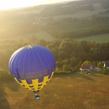 Gisors, à 40 min de Cergy Pontoise, Val d'oise (95) - Baptême de l'air montgolfière
