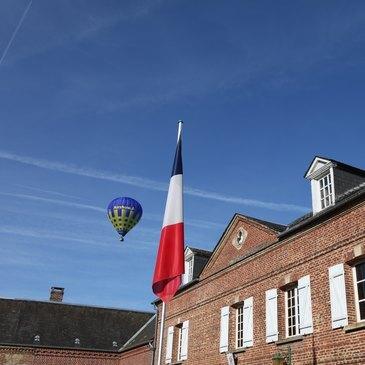 Baptême de l'air montgolfière proche Gisors, à 40 min de Cergy Pontoise