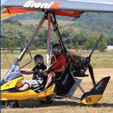 Pilotage d'ULM Pendulaire près de Clermont-Ferrand