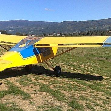 Pilotage d'ULM Multiaxe près de Clermont-Ferrand