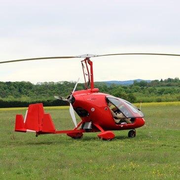 Pilotage d'ULM Autogire près de Clermont-Ferrand