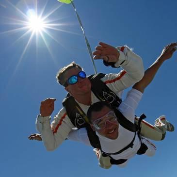 Saut en parachute en région Languedoc-Roussillon