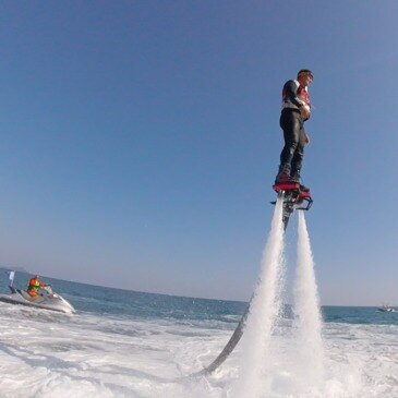 Flyboard, département Var