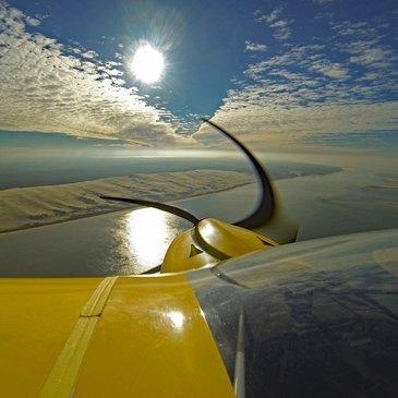 Pilotage d'ULM Multiaxe à Arcachon