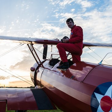 Initiation au Pilotage d'Avion Biplan à Rennes