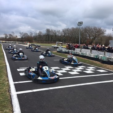 Karting, département Charente