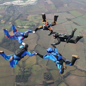 Saut d'Initiation en Parachute à Amiens près de Paris