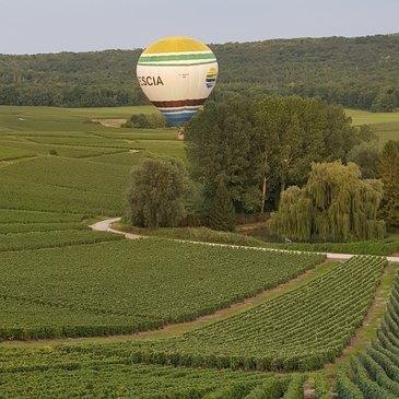 Baptême de l'air montgolfière en région Champagne-Ardenne