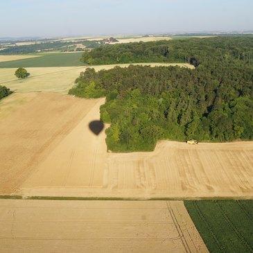 Reims, Marne (51) - Baptême de l'air montgolfière