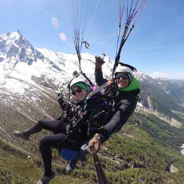 Vol Sensation en Parapente à Chamonix Mont-Blanc
