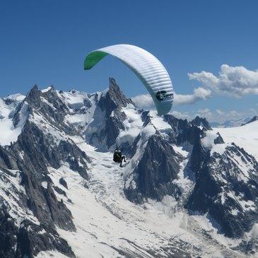 Chamonix Mont-Blanc, Haute savoie (74) - Baptême en parapente