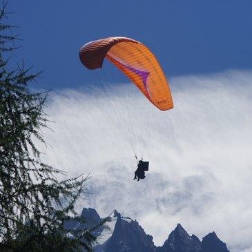 Baptême en parapente proche Chamonix Mont-Blanc