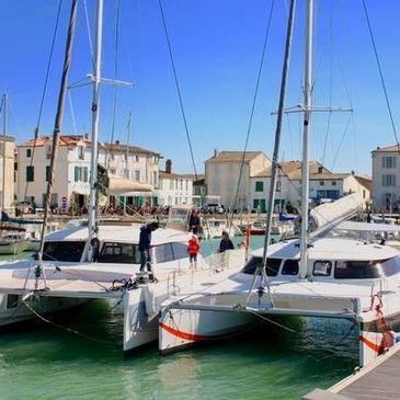 Week-end en Catamaran dans les Îles Charentaises en région Poitou-Charentes