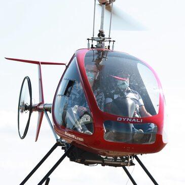 Aérodrome de Saint-Quentin, Aisne (02) - Baptême de l'air hélicoptère