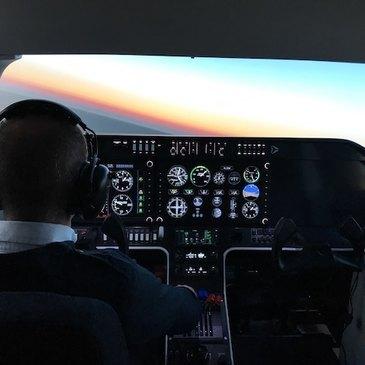 Simulateur de Vol en Avion à Lognes
