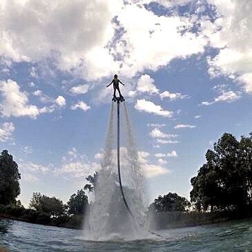 Initiation au Flyboard près de Vienne