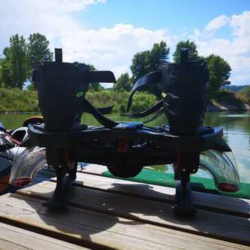 Initiation au Flyboard près de Vienne en région Rhône-Alpes
