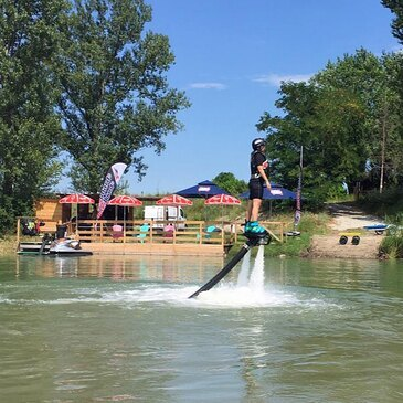 Flyboard proche St-Maurice L'Exil, à 30 minutes d'Annonay