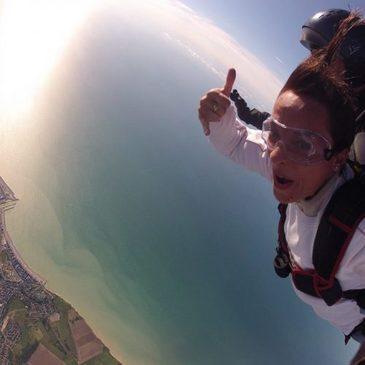 Saut en Parachute Tandem au Tréport